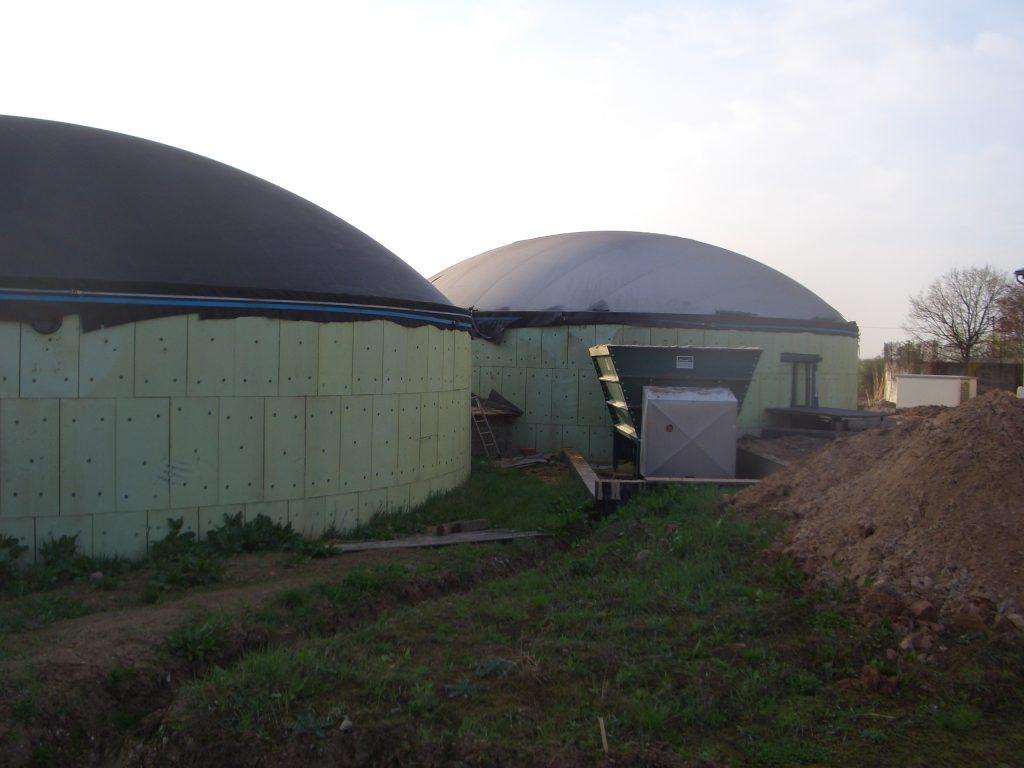 Unsere Biogasanlage wird gebaut